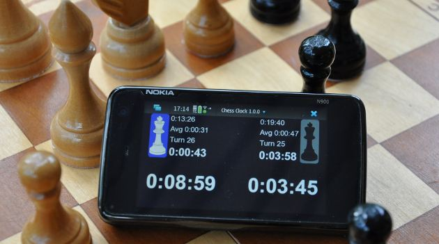 Chess Clock on board